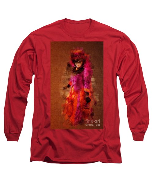 Fuschia Venice Long Sleeve T-Shirt