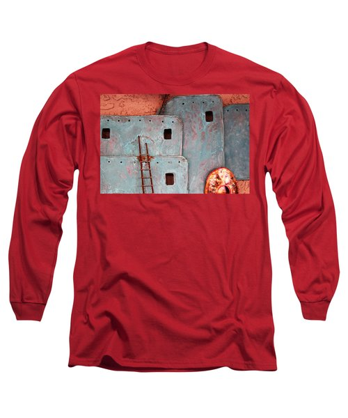Futuristic Pueblo Long Sleeve T-Shirt