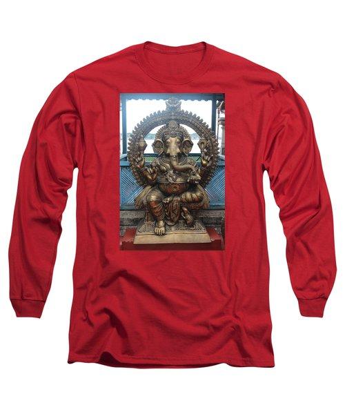Ganapati Bronze Statue, Fort Kochi Long Sleeve T-Shirt