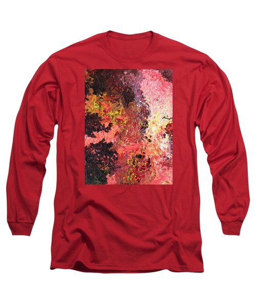Ganesh In The Garden Long Sleeve T-Shirt by Ralph White