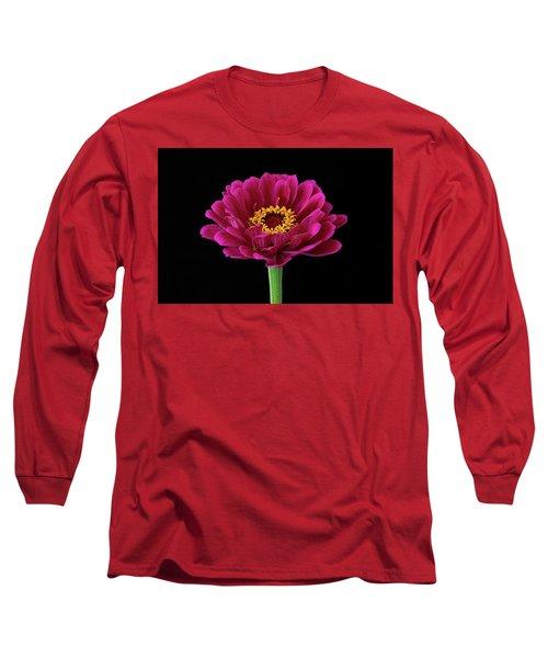 Garden Zinnia Long Sleeve T-Shirt