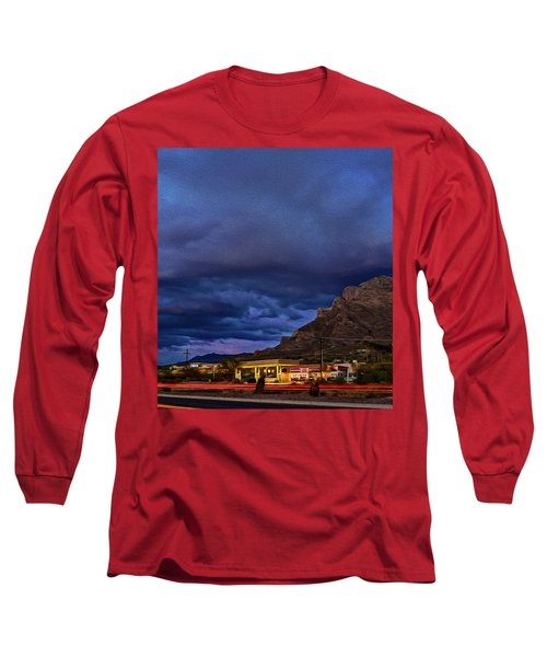 Gathering Storm Op51 Long Sleeve T-Shirt by Mark Myhaver