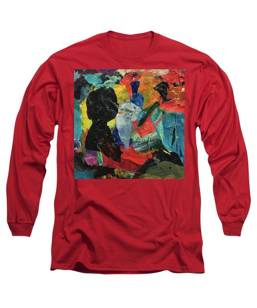 Long Sleeve T-Shirt featuring the painting Generations by Mary Sullivan