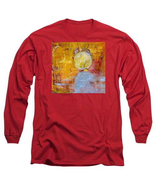 Long Sleeve T-Shirt featuring the painting Genesis by Evelina Popilian