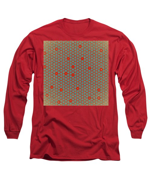 Geometric 2 Long Sleeve T-Shirt by Bonnie Bruno