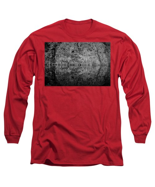 Geometries On A Mountain Lake Long Sleeve T-Shirt