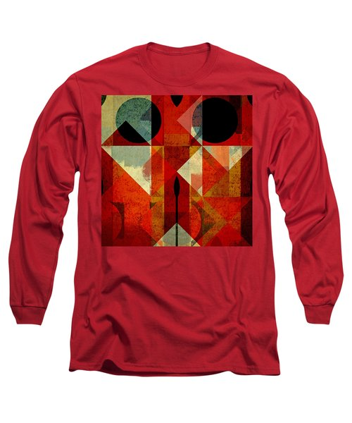 Geomix-04 - 39c3at22g Long Sleeve T-Shirt by Variance Collections