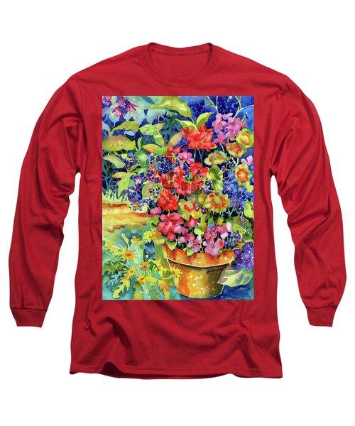 Geranium I Long Sleeve T-Shirt