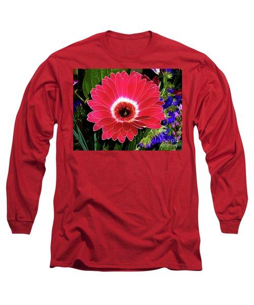 Gerbera Bella Long Sleeve T-Shirt by Mariola Bitner