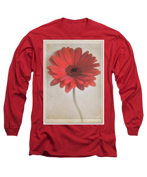 Long Sleeve T-Shirt featuring the photograph Gerbera Daisy by Lyn Randle