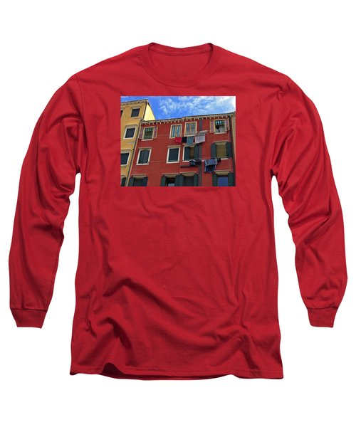 Long Sleeve T-Shirt featuring the photograph Getting To Know You by Lynda Lehmann