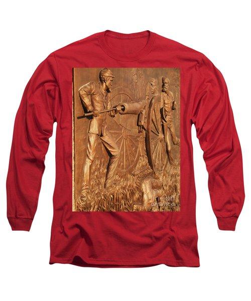 Gettysburg Bronze Relief Long Sleeve T-Shirt