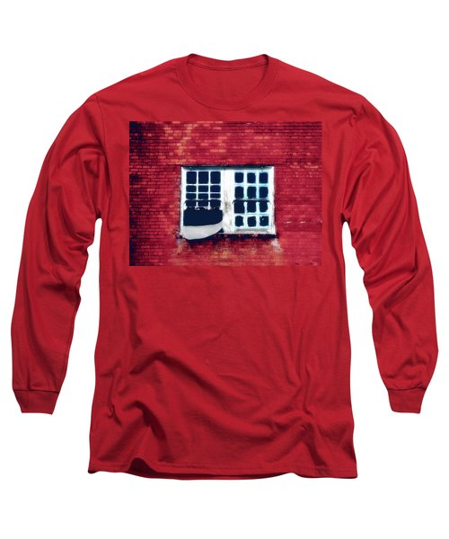 Ghostly Window Long Sleeve T-Shirt
