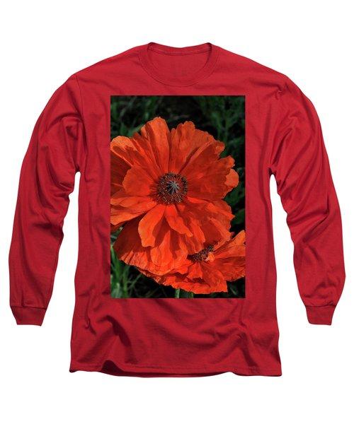Giant Mountain Poppy Long Sleeve T-Shirt