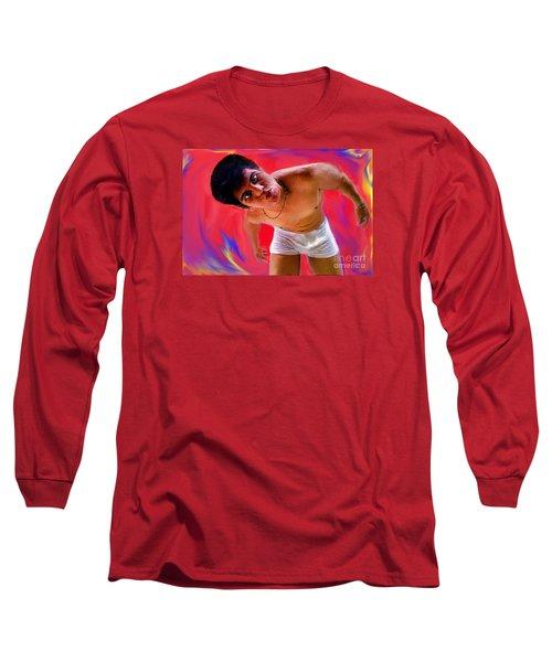 Gimme  A  Kiss Long Sleeve T-Shirt