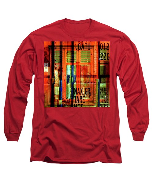 Long Sleeve T-Shirt featuring the photograph Gimmie A Sign by Wayne Sherriff