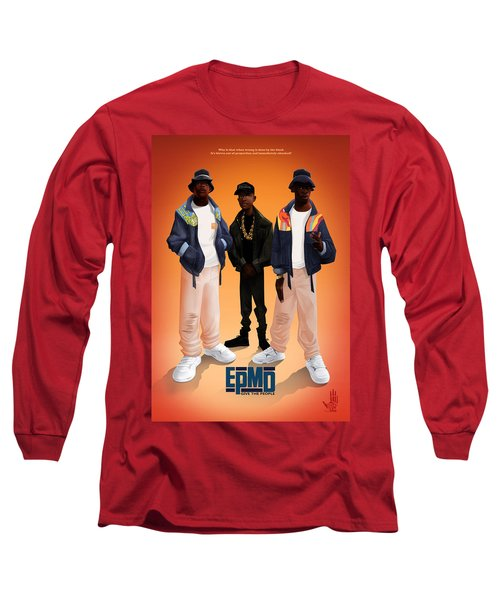 Give The People Long Sleeve T-Shirt