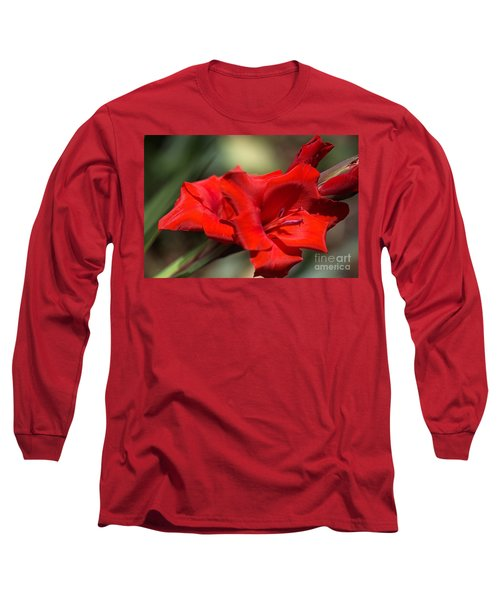 Gladioli Manhattan Variety  Long Sleeve T-Shirt