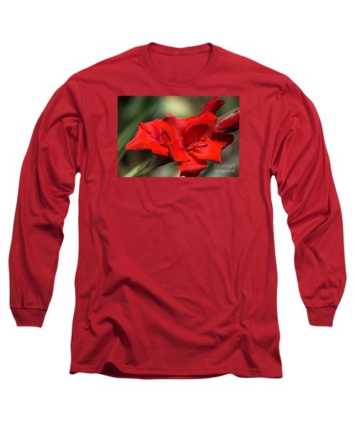 Gladioli Manhattan Variety  Long Sleeve T-Shirt