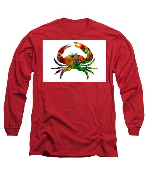 Glass Crab Long Sleeve T-Shirt