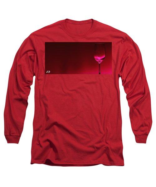 Glass Of Wine Long Sleeve T-Shirt