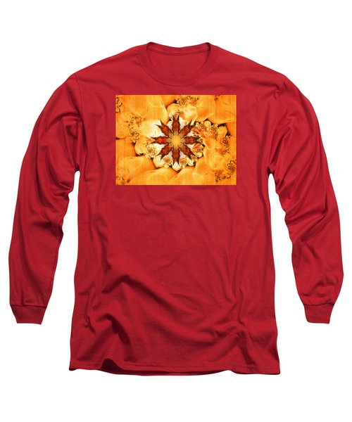 Glow Long Sleeve T-Shirt by Richard Ortolano
