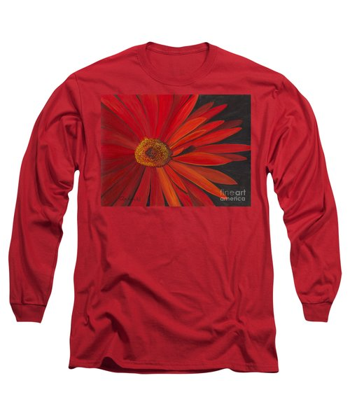 Glowing Gerber Long Sleeve T-Shirt