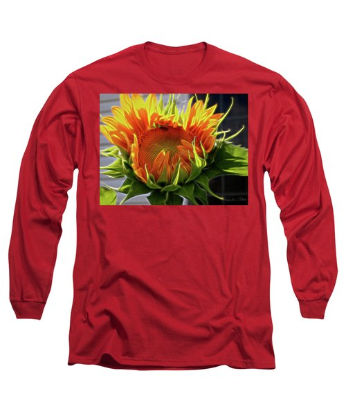 Glowing Sun Long Sleeve T-Shirt