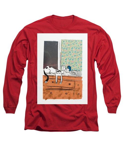 Go Ahead I Dare Ya. Long Sleeve T-Shirt