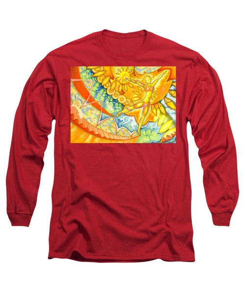 Go Confidently In The Direction Of Your Dreams Long Sleeve T-Shirt by Mark Stankiewicz
