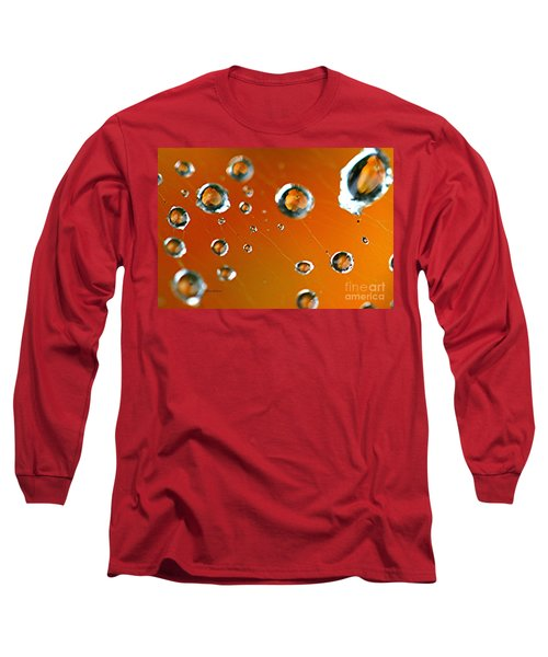 God Creation Long Sleeve T-Shirt by Yumi Johnson