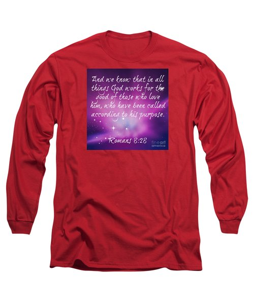 God Works Long Sleeve T-Shirt by Leanne Seymour