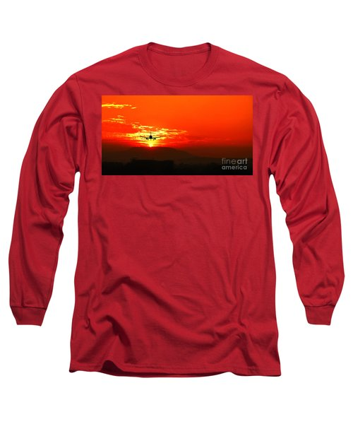 Going Home Long Sleeve T-Shirt by Charuhas Images