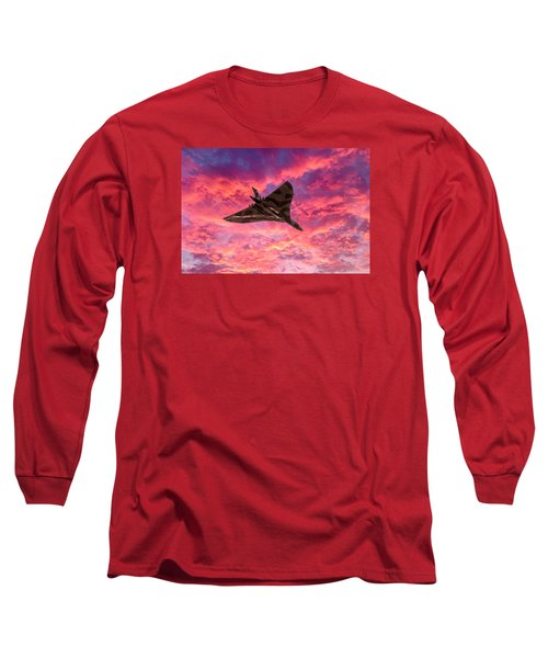Going Out In A Blaze Of Glory Long Sleeve T-Shirt by Gary Eason