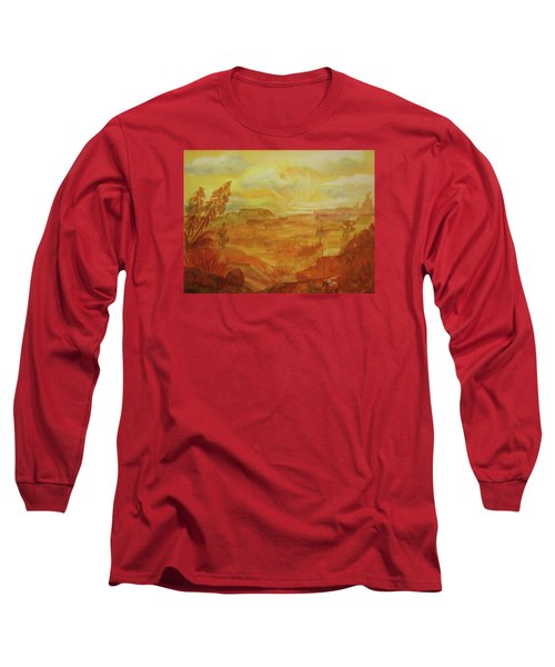 Golden Dawn Long Sleeve T-Shirt by Ellen Levinson