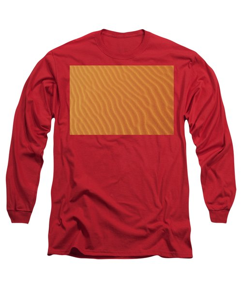 Golden Desert Sands Long Sleeve T-Shirt