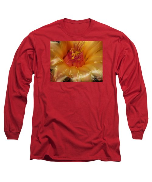 Golden Flower 1 Long Sleeve T-Shirt