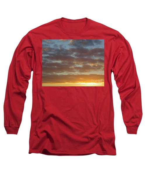 Golden Glow Florida Sunset. Long Sleeve T-Shirt