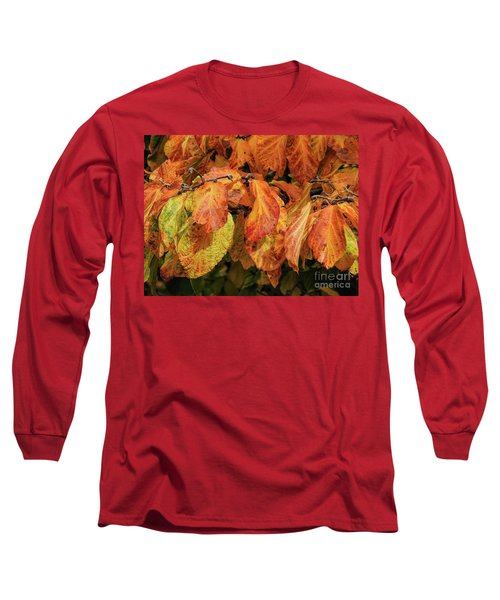 Long Sleeve T-Shirt featuring the photograph Golden by Peggy Hughes