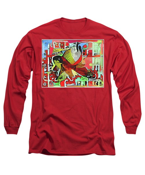 Goldfish #2 Long Sleeve T-Shirt