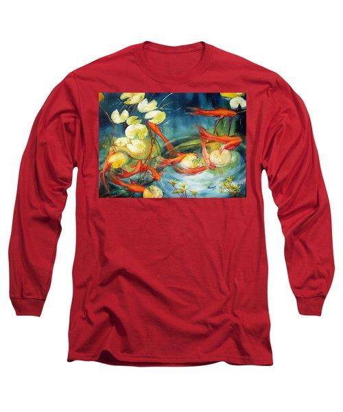 Goldfish Pond Long Sleeve T-Shirt