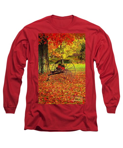 Gone With The Wind Long Sleeve T-Shirt by Diane E Berry
