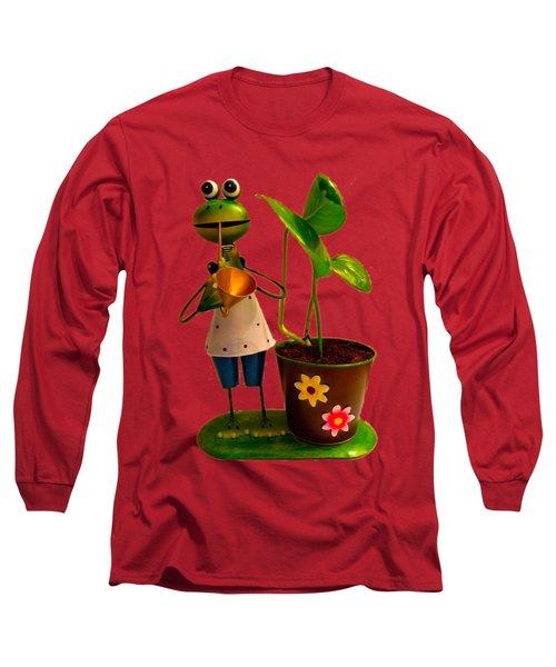 Good Luck Long Sleeve T-Shirt by Carlos Avila