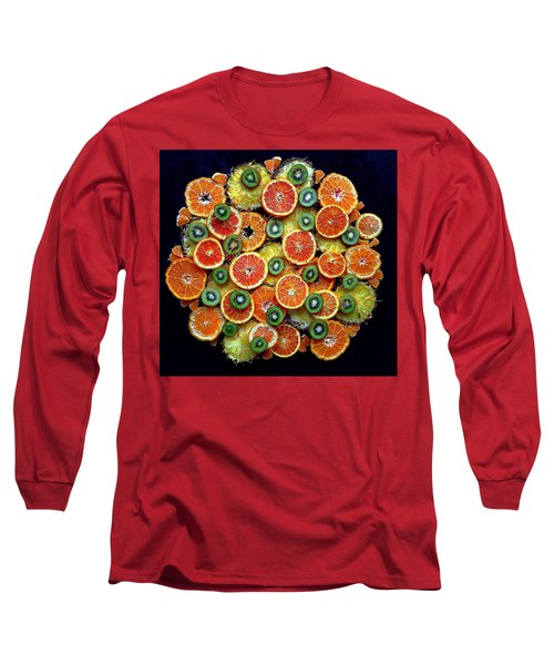 Good Morning Fruit Long Sleeve T-Shirt