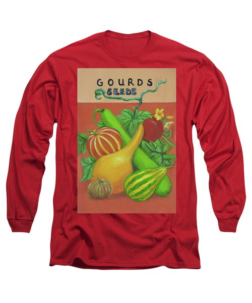 Gourd Orange Long Sleeve T-Shirt