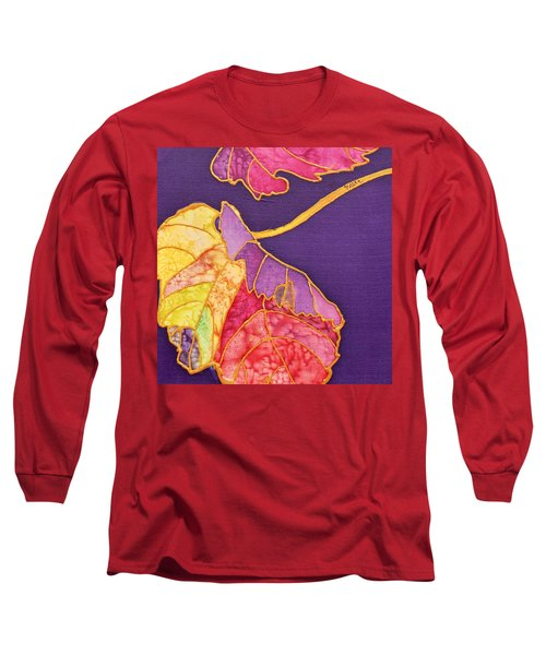Grape Leaves Long Sleeve T-Shirt