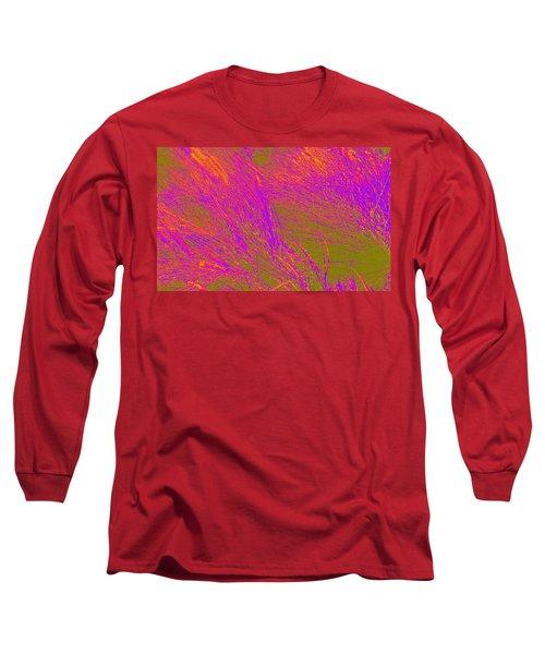 Grass Abstract 4 Long Sleeve T-Shirt