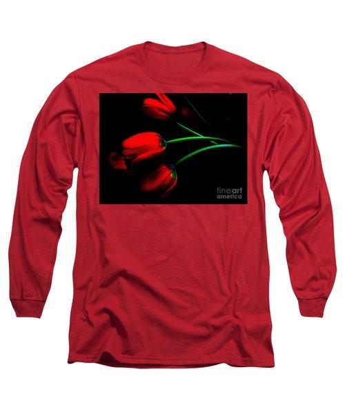 Gratitude Long Sleeve T-Shirt by Elfriede Fulda