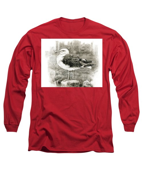 Great Black-backed Gull Long Sleeve T-Shirt
