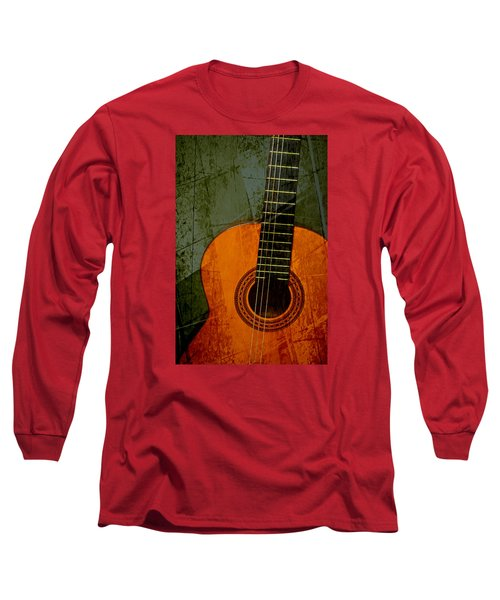 Green Canvas Long Sleeve T-Shirt